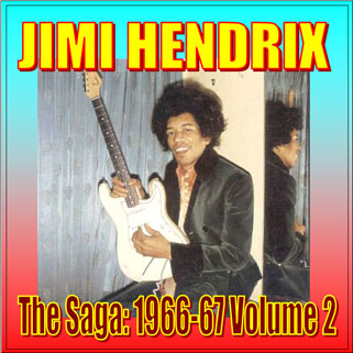 jimi cd the saga 1966-67 volume 1 front