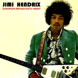 jimi cd european broadcasts 1966-1967 front