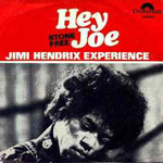 jimi single hey joe norway 1967