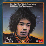 jimi ep hey joe holland 1980