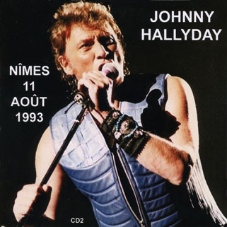 johnny nimes 11 aout 1993 front