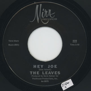 leaves single mira 222 mislabelled  side funny little world