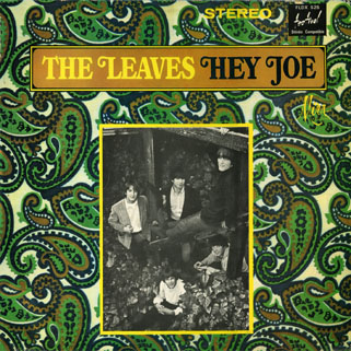 leaves lp hey joe festival front