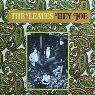 leaves lp hey joe label line front