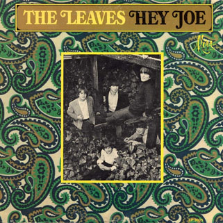 leaves lp hey joe mira mono front