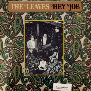 leaves lp hey joe mira promo front