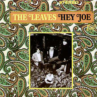 leaves lp hey joe sparton front