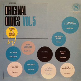 leaves lp original oldies volume 5 front