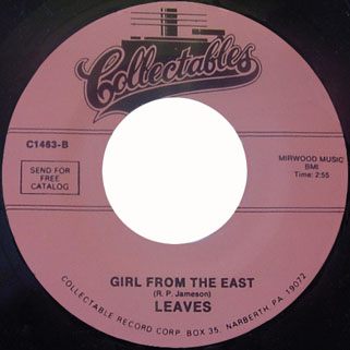 leaves single collectables girl from the east