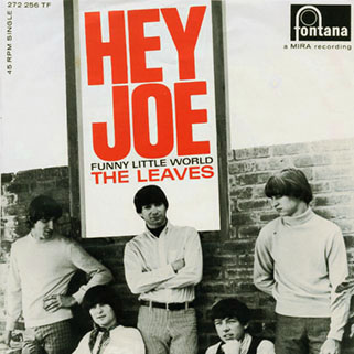 leaves single fontana holland hey joe front
