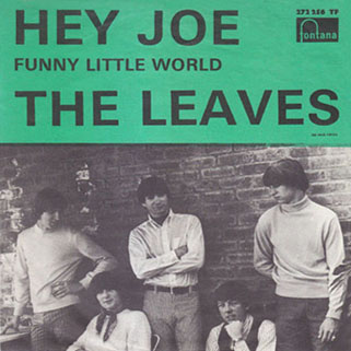leaves single fontana sweden hey joe front