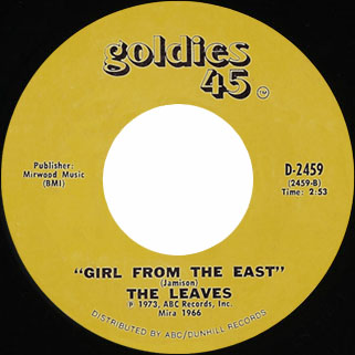 leaves single goldies 45 girl from the east