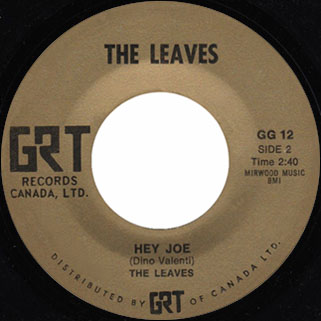 leaves single grt hey joe