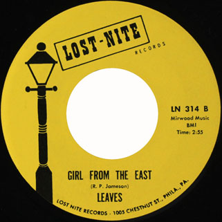 leaves single lost nite girl from the east