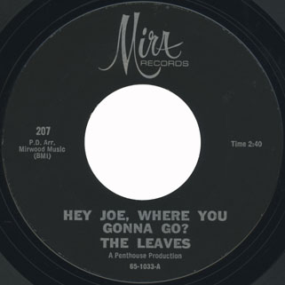 leaves single mira 207 hey joe