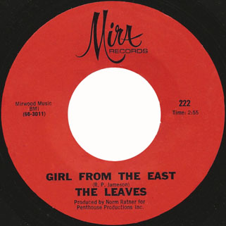 leaves single mira 222 1 girl from the east red