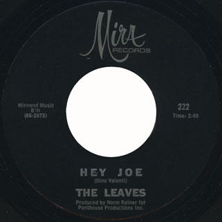 leaves single mira 222 1 hey joe