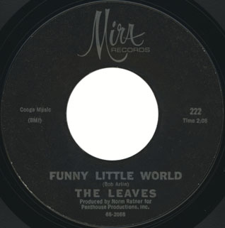 leaves single mira 222 hey joe mirwood music side funny little world