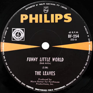 leaves single philips funny little world