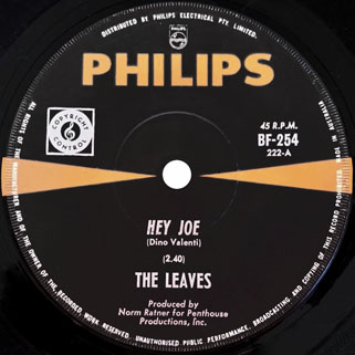 leaves single philips hey joe