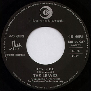 label hey joe