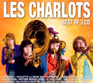 les charlots 3 cd best of front