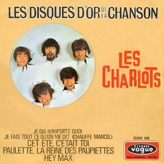 les charlots ep disque d'or front