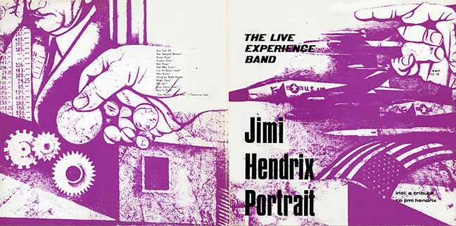 live experience band lp portrait cover out