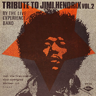 live experience band lp tribute to jimi hendrix vol 2 front