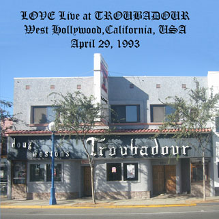 love cdr live at troubadour front