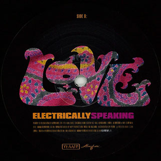 love lp electrically speaking label 2