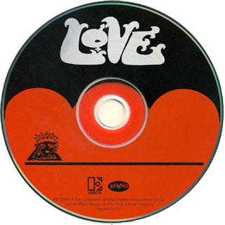 love cd us the best of label
