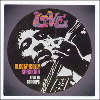 love cd electrically speaking front