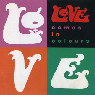 love cd comes in colors front