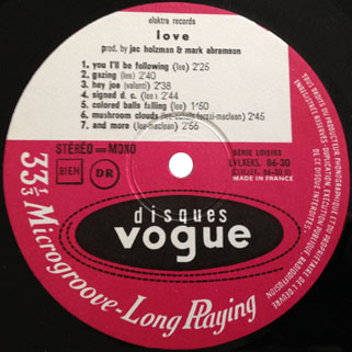 love lp same french vogue label 2