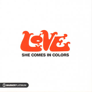 love cd she comes in colors front