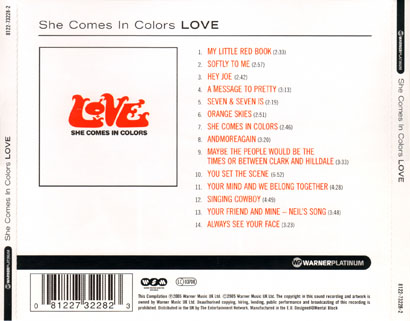 love cd she comes in colors tray