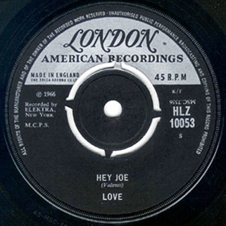 love uk single my little red book and hey joe label 2
