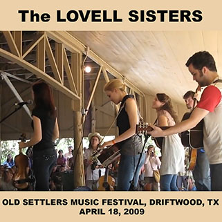 lovell sisters old settlers music festival driftwood april 18, 2009 front