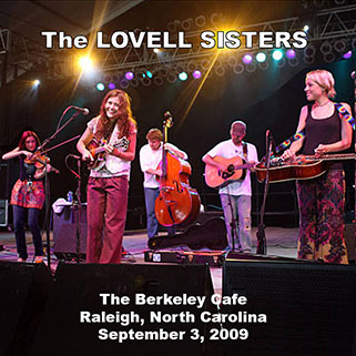 lovell sisters berkeley cafe raleigh september 3, 2009 front