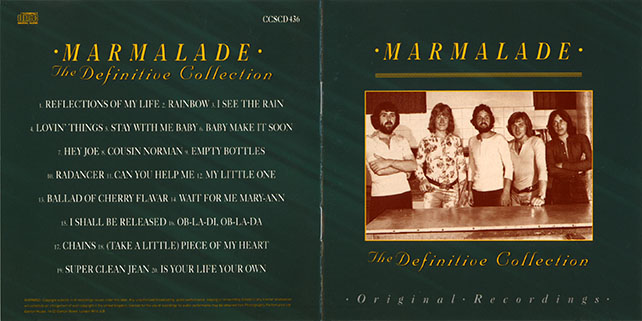 marmalade cd definitive collection castle ccscd 436 booklet 1