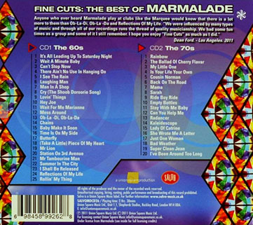 marmalade cd fine cuts the best of back