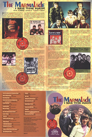 marmalade cd i see the rain castle cover front