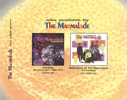marmalade cd i see the rain castle tray in