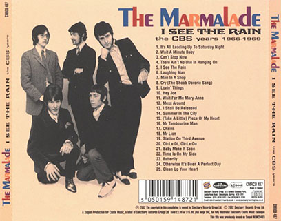 marmalade cd i see the rain castle tray out