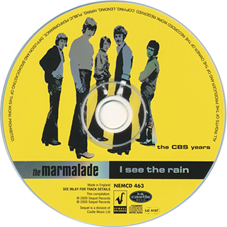 marmalade cd i see the rain sequel label