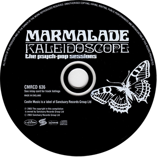 marmalade cd kaleidoscope castle label