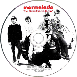 marmalade cd definitive collection ther's a lot of it about castle ccscd 825 label 1