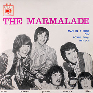 marmalade ep cbs portugal lovin' things - hey joe front