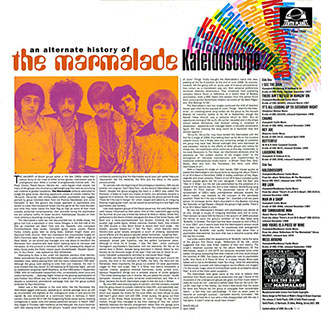 marmalade lp kaleidoscope tenth planet back